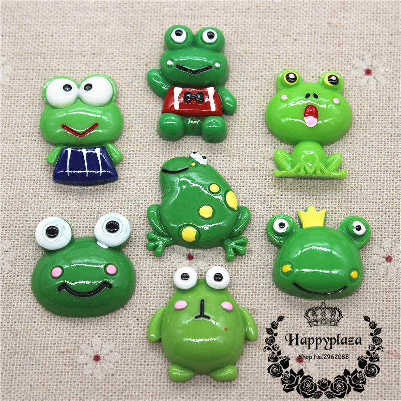 Colourful Frogs Cabochons,Stick,Glue,Hair Bands,Crafting,Card Making UK,Job Lots