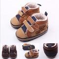 2015 прохладная зима новорожденный теплые первые уокер младенцы мальчики антискользящий Bebe сапоги обувь