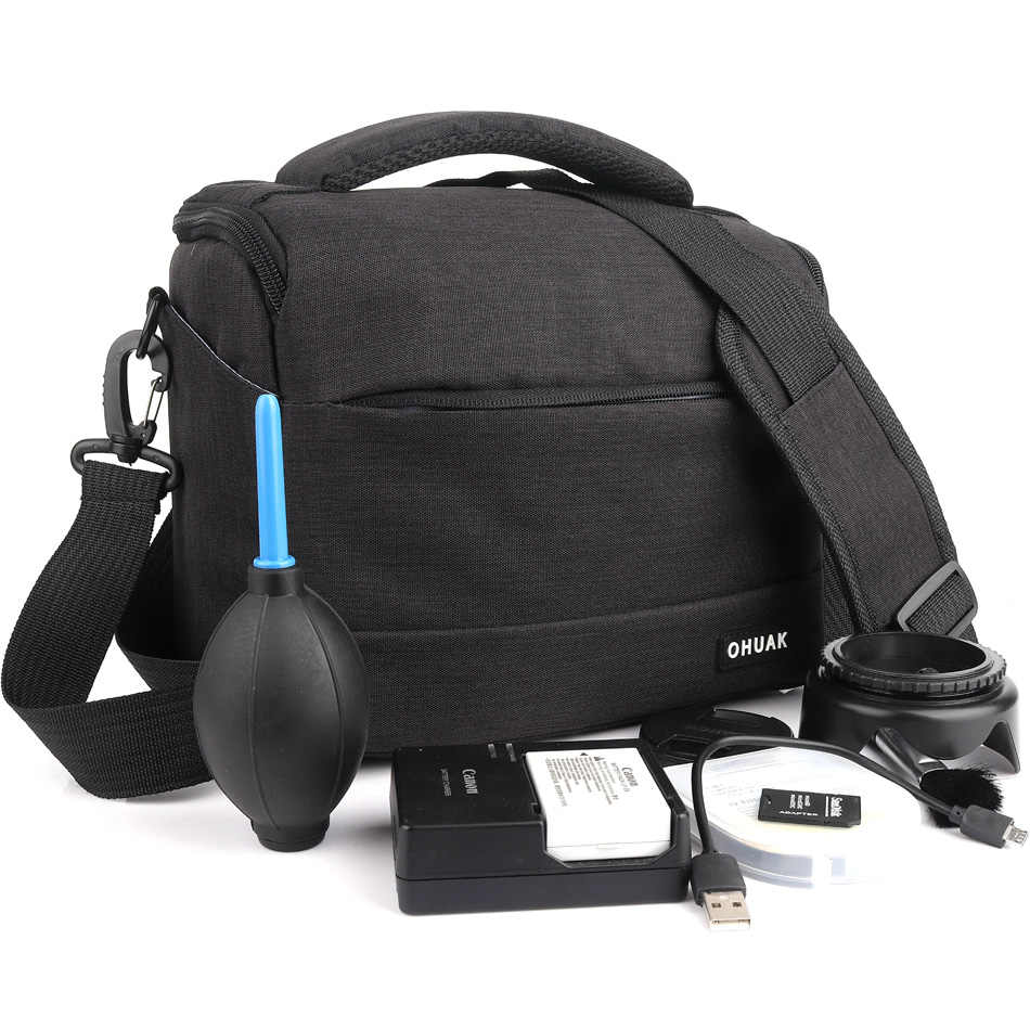 حقيبة كاميرا لسوني ألفا HX300 H400 HX400 A6300 A6000 A580 A560 A450 A390 A290 A77 A65 A58 A57 A3000 A350 a700 A900 A550 A500