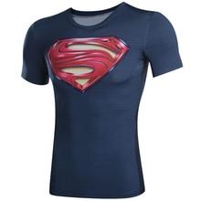 3D Printed T shirts captain America 3 digital printing compressed t shirts men Short sleeve Deadpool