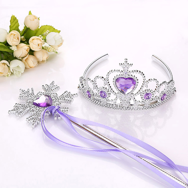 Shinning Princess Crown Hairbands Kids For Girls Best Birthday Gift