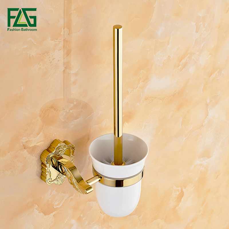 gold plated toilet seat. FLG Brass Toilet Brush Holder Wall Mounted Gold Plated Set Seat  Ceramic Cups Bathroom Hardware Accessories 15257Online Get Cheap Gild The Throne That includes 750 000 on