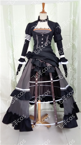 HOT font b Anime b font unlight Alicetaria black dress font b Cosplay b font Costume