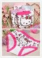 2016 venda nova crianças cueca crianças Undwear menina roupa interior Briefs calcinhas curtos frete grátis infantis do bebê algodão 12 pçs/lote Y243