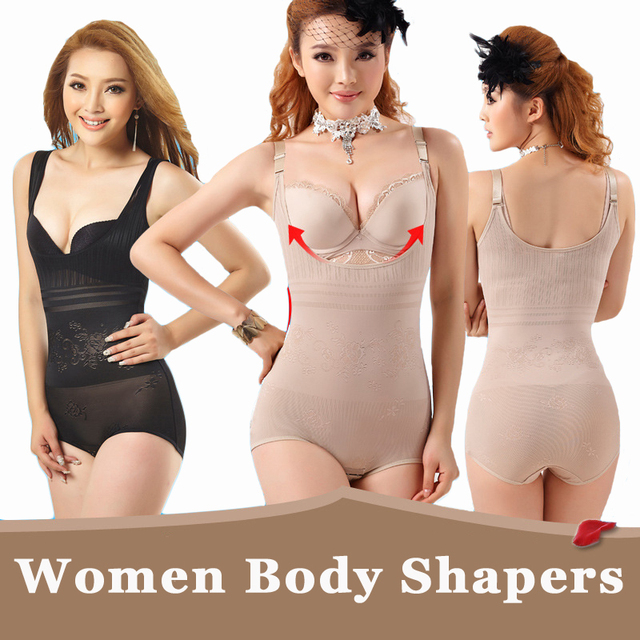 60da4f8384 Body Shaper Women High Elastic Waist Trainer Slim Shapewear Bodysuit Sexy  Tummy Waist Shaper Breathable Underwear Women Corset