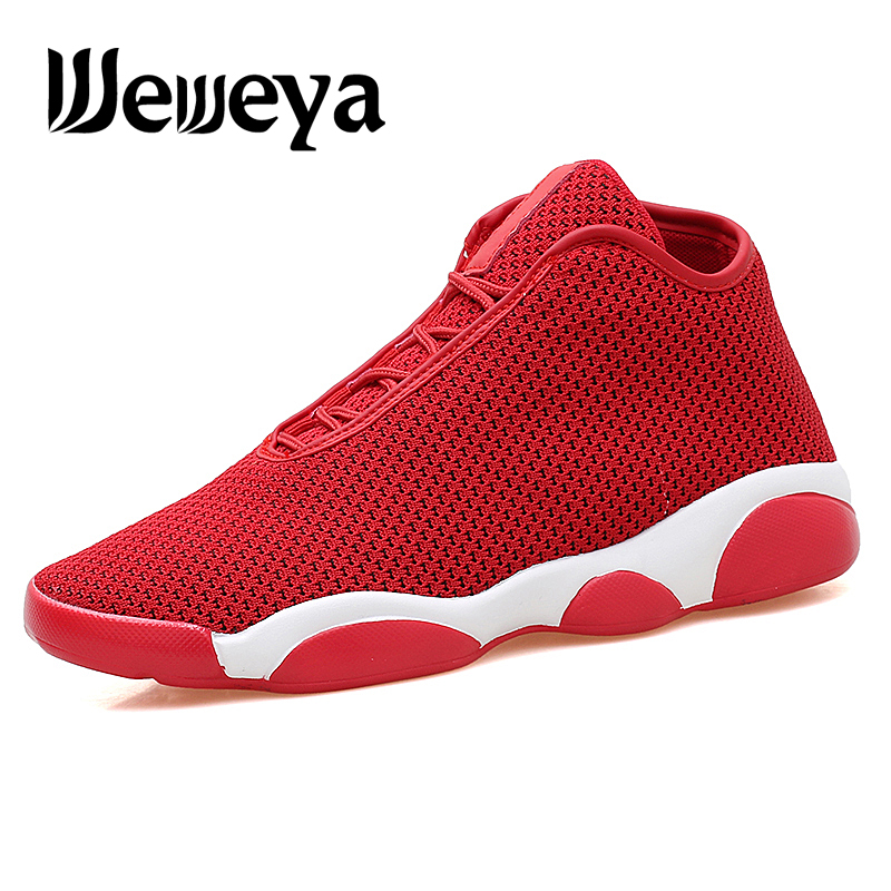 Weweya Sneakers Basketball-Shoe Trianers Outdoor-Sport Men For Male Ankle-Boots Boy High-Quality