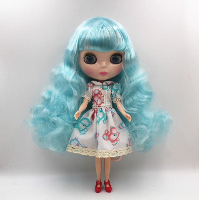 Free Shipping big discount RBL-451 DIY Nude Blyth doll birthday gift for girl 4colour big eye doll with beautiful Hair cute toy free shipping big discount rbl 331 diy nude blyth doll birthday gift for girl 4colour big eye doll with beautiful hair cute toy