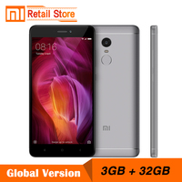 Global Version Xiaomi Redmi Note 4 Snapdragon 625 Octa Core CPU Mobile Phone 3GB RAM 32GB ROM 5.5