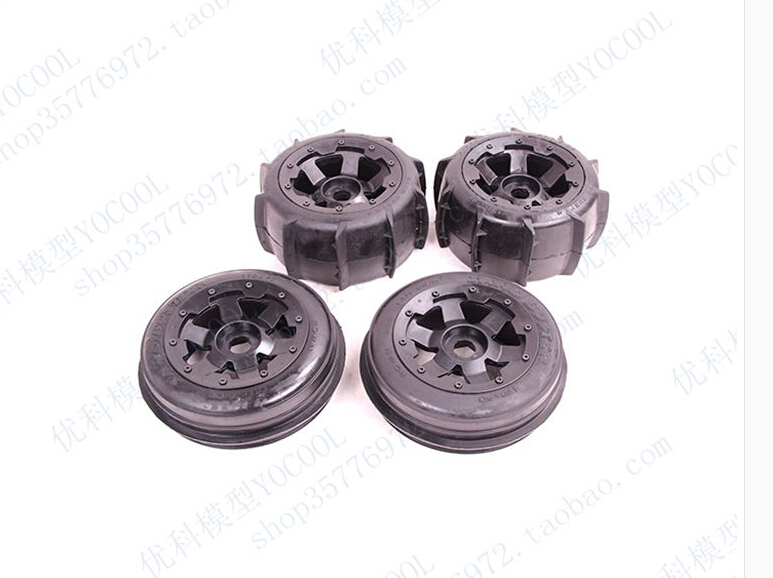Baja Sand Paddles Wheel and tyre for 1/5 HPI Baja 5B Parts Rovan KM HPI baja sand paddles wheel and tyre for 1 5 hpi baja 5b parts rovan km hpi