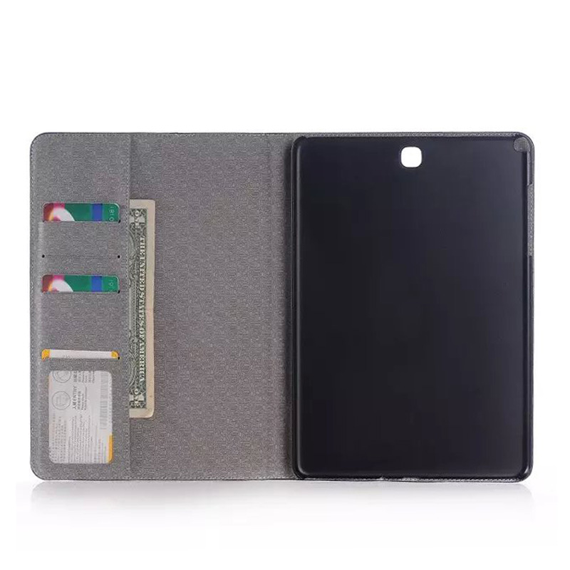 High Quality Jeans Wallet Leather Case For Samsung Galaxy Tab S2 9.7 Inch New Cover For SM-T810 SM-T815 Tablet Cover Sleeves Bag