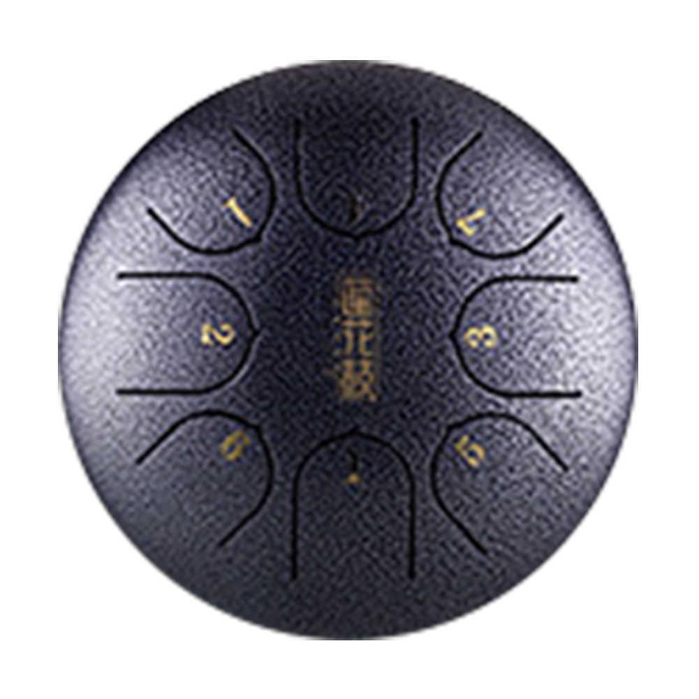 6 Polegada 8 Notas Com Marretas Presente Língua de Aço Profissional Tambor Tanque de Transporte de Mini Pan Mão Educação Musical Instrumento G sintonia C Chave