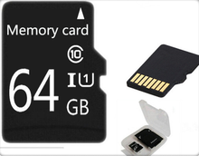 !Real capacity TF Card Micro memory card 32gb 64gb Class10 high speed micro Memory card Class6 gift adapter for phone/tablet