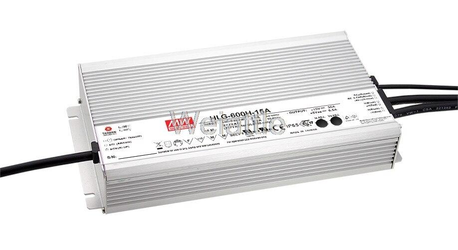 Означает хорошо оригинальный HLG 600H 36 36 В 16.7A meanwell HLG 600H 36 В 601,2 Вт один Выход светодиодный драйвер Питание