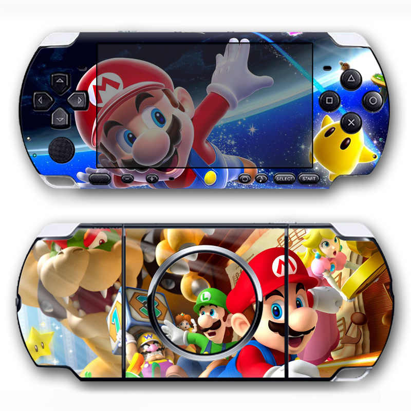 Free drop shipping Latest design for PSP 3000 color skin sticker  #TN-PP3000-5050