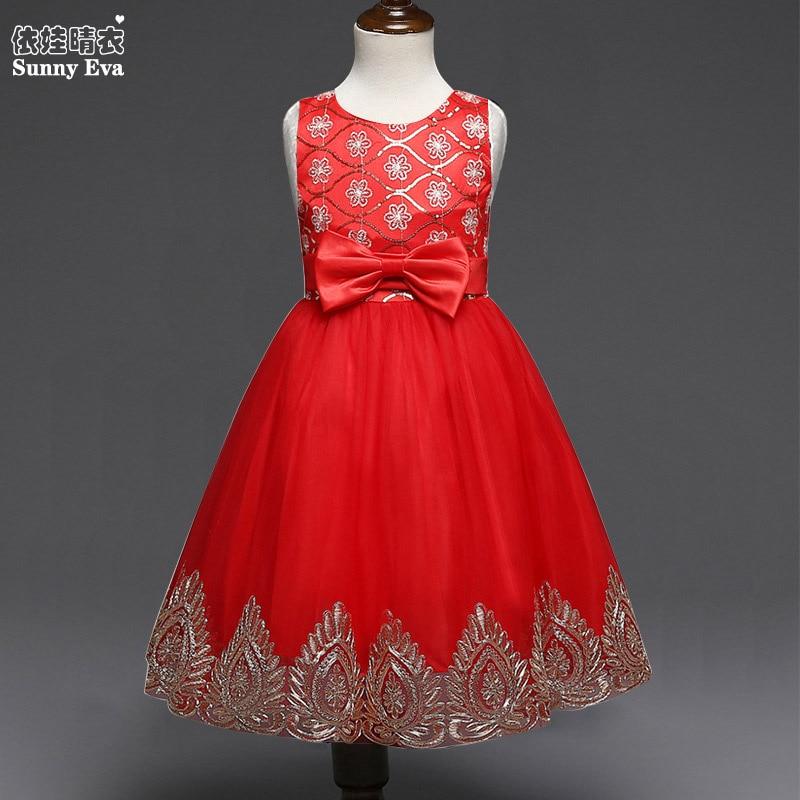 Sunny Eva Red Beading Party Girl Dress Halloween Princess Evening