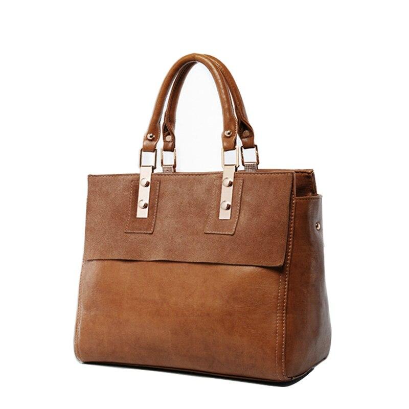 Hot Sales Women Handbags Genuine Leather Women Bag Lady Famous Brand Shoulder Messenger Bags Tote Mochila Sac 2017 hot sales female fashion women cute messenger bags rivet shoulder bag leather crossbod new brand a8