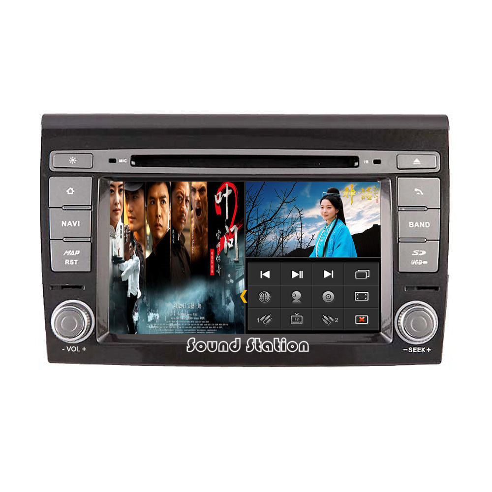 Autocardvdgps for fiat bravo brava auto car dvd gps navigation media