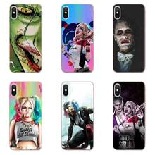 Hero Joker And Harley Quinn For Sony Xperia Z Z1 Z2 Z3 Z4 Z5 compact Mini M2 M4 M5 T3 E3 E5 XA XA1 XZ Premium Soft Case Cover(China)