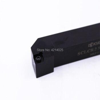 1Pcs Kyocera Lathe Turning Tool SCLCR2525M-09 External Turning Tools Cutting Tool CNC Tools Lathe Tools Lathe Cutter