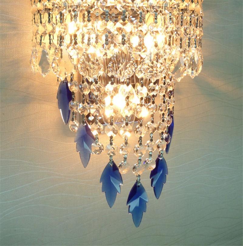 wall lamp crystal