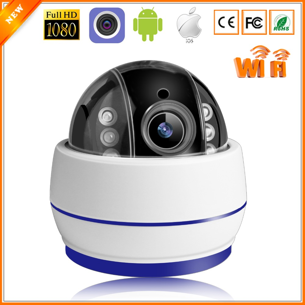 BESDER Speed Dome IP Camera WiFi 1080P 960P 5X Auto Zoom PTZ Surveillance Indoor Camera Wireless
