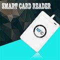 1 компл. Профессиональный USB ACR122U NFC RFID Считыватель Смарт-Карт Писатель Для все 4 типа NFC (ISO/IEC18092) теги + 5 шт. M1 Карты Hot