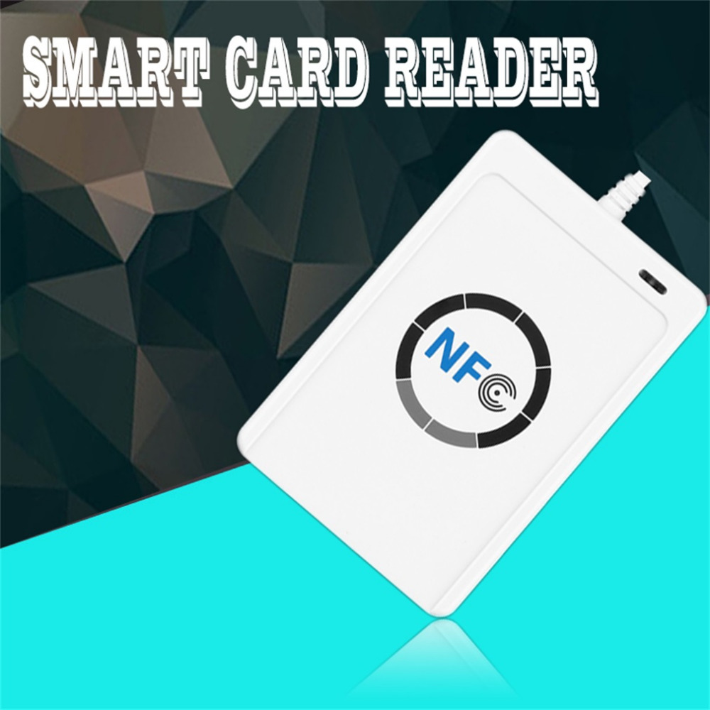 ФОТО 1 set Professional USB ACR122U NFC RFID Smart Card Reader Writer For all 4 types of NFC (ISO/IEC18092) Tags + 5pcs M1 Cards Hot