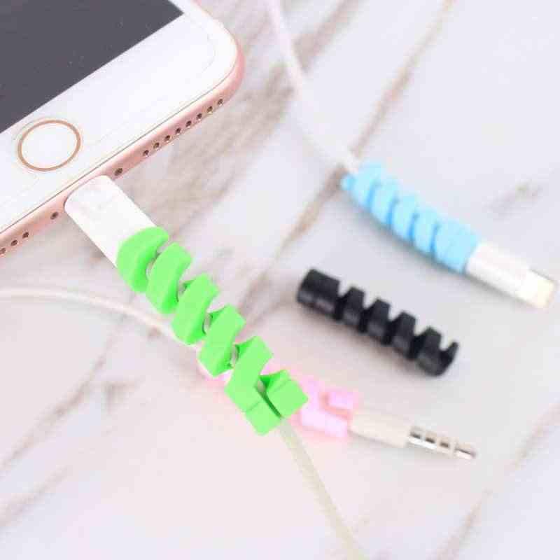 Kabel Protector Abdeckung Für Huawei P30 Pro P20 Lite P30 Lite Mate 20 Lite P Smart 2019 Fall Telefon accesorios für Iphone 6 7 8 Plus