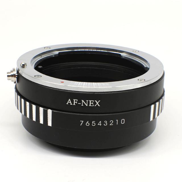 Envío libre anillo adaptador para sony alpha minolta af para nex AF de tipo Adaptador de Lente para Sony Alpha NEX E-MOUNT Cámara DC111
