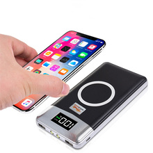 10000mAh Qi Wireless Charger Power Bank External Battery For iPhone X 8 Plus Samsung Note 8 S9 S8 Plus S7 Mobile Phone Powerbank