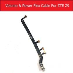 Obturador genuíno & power & volume cabo flexível para zte nubia z9 nx508j power button & controle de volume flex fita peças de reposição