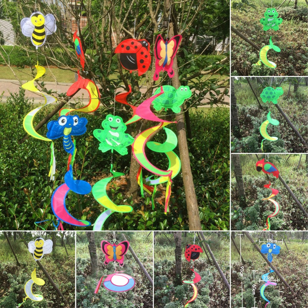 Animal Spiral Windmill Colorful Wind Spinner Lawn Garden Yard Outdoor Decor New AUG8