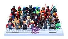 High Quality 40pcs/lot Super Heroes Building Blocks Classic ABS Avengers Star Wars Minifigures Lego Compatible DIY Brick Toys