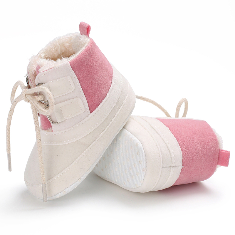 Winter Warm Classic Casual Baby Shoes Toddler NewbornBaby Girls Autumn Lace-Up First Walkers Sneakers Shoes