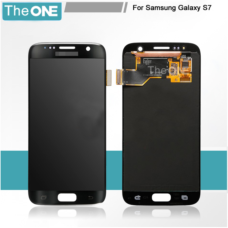 NEW Product LCD Display Digitizer For Samsung S7 Touch Screen Digitizer for Galaxy S7 Free Shipping+Tracking Number