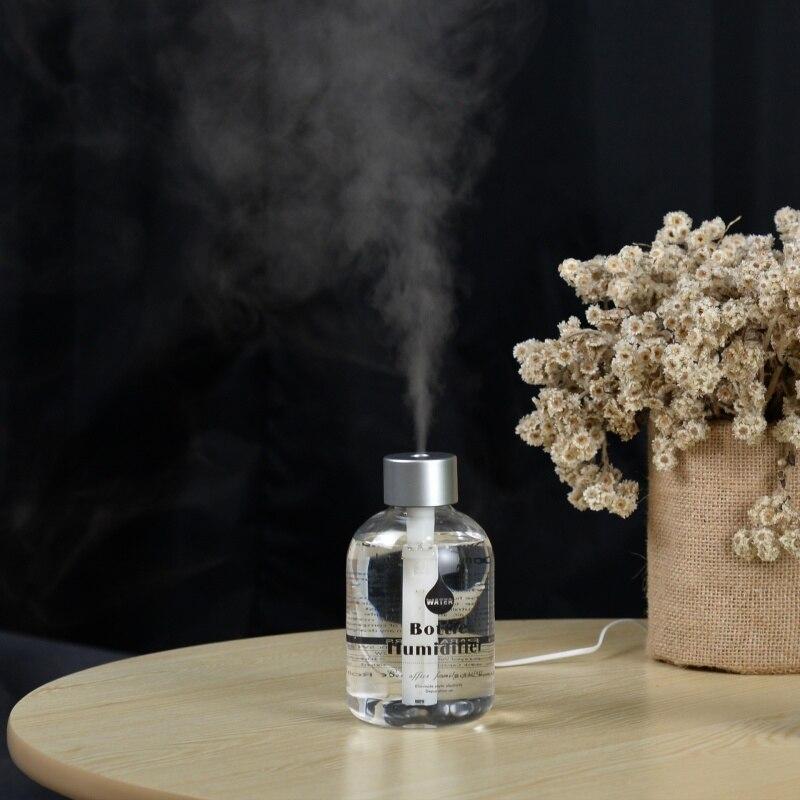 New 300ml USB Ultrasonic Humidifier Car Home Office Mini Aroma Vehicle Air Purifier Aroma Diffuser Mist Maker Fogger