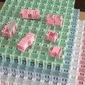 Venta al por mayor original de la alta calidad 100 unids SMD SMT componentes cajas de almacenamiento de contenedores kit electrónico de casos 25 x 31.5 x 21.6 mm