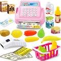 Niños Casa De Juguete Mini tienda de la Tienda de Caja Registradora de Juguete Kit Pretend & Play Set de Juego Como Regalo de Navidad Año Nuevo