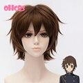 OHCOS Серафим конца Персонаж Йоши Saotome 13 дюймов Коричневый Короткие Волосы Парик Косплей