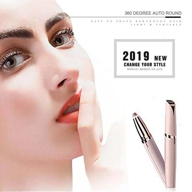 YENI Marka 5 Renk Elektrikli Kaş Düzeltici Makyaj Mini Göz Kaş Tıraş Makinesi Tıraş Kadınlar için Taşınabilir Epilatör Yüz Saç Çıkarıcı