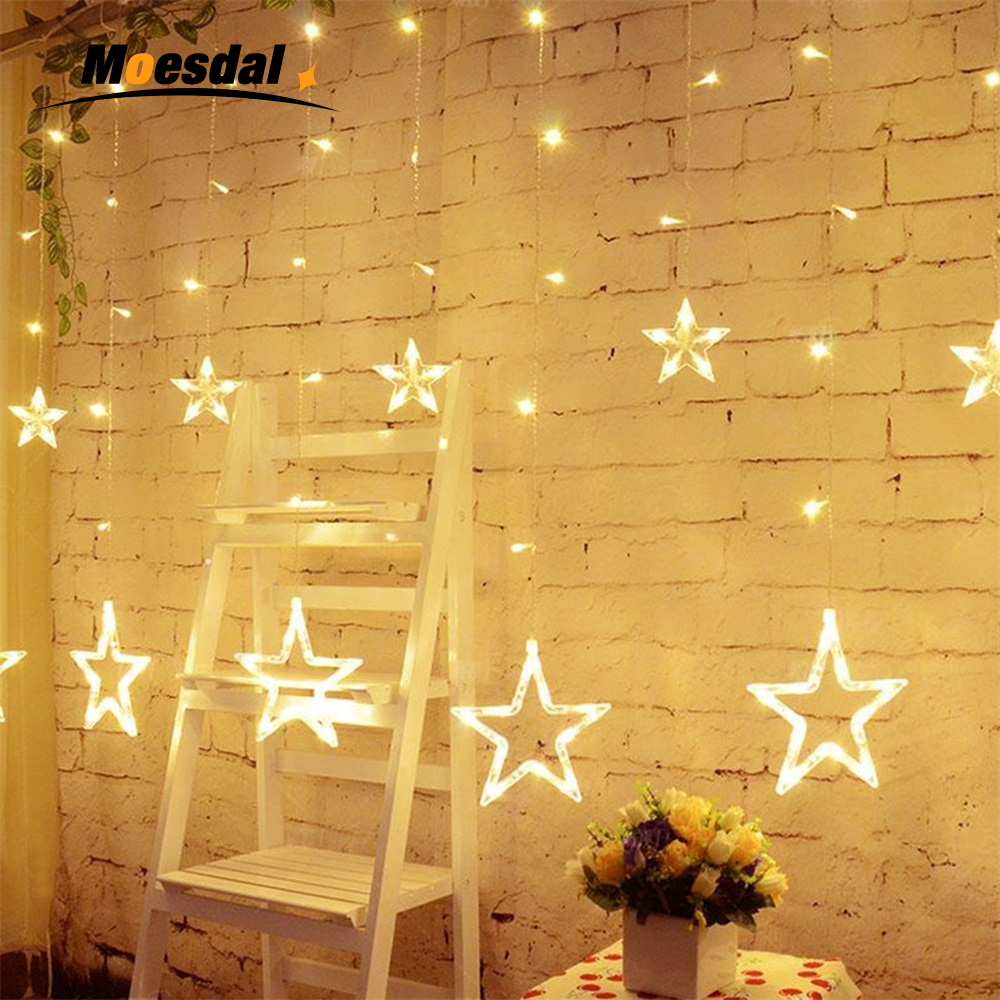 Moesdal Holiday Lighting Christmas Decoration Star