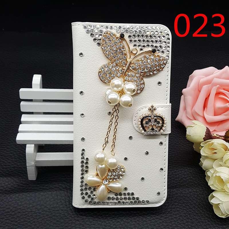 25Style For font b HTC b font Desire 300 Bling Luxury Handmade Phone Case Glitter Rhinestone