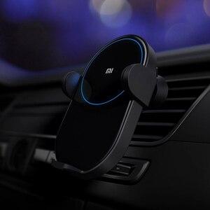 Image 4 - Originale Xiao mi wireless Caricabatteria Da Auto 20 w MAX Carica Rapida Per Mi 9 intelligente compatibilità Con Caricabatteria Da Auto Per iPhone Xs Max