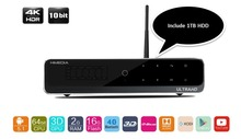 "2016 Hot 4K Ultra Output Android TV Box Himedia Q10 Pro Android 5.1 Kodi 16.0 Smart TV Box within 1TB SATA3, 3.5"" 7200 64MB HDD"