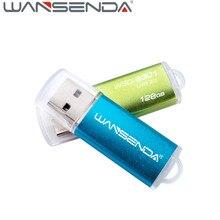 Fast speed Wansenda Mini Pen drive 128gb usb flash drive 32gb usb 16gb flash drive 8gb