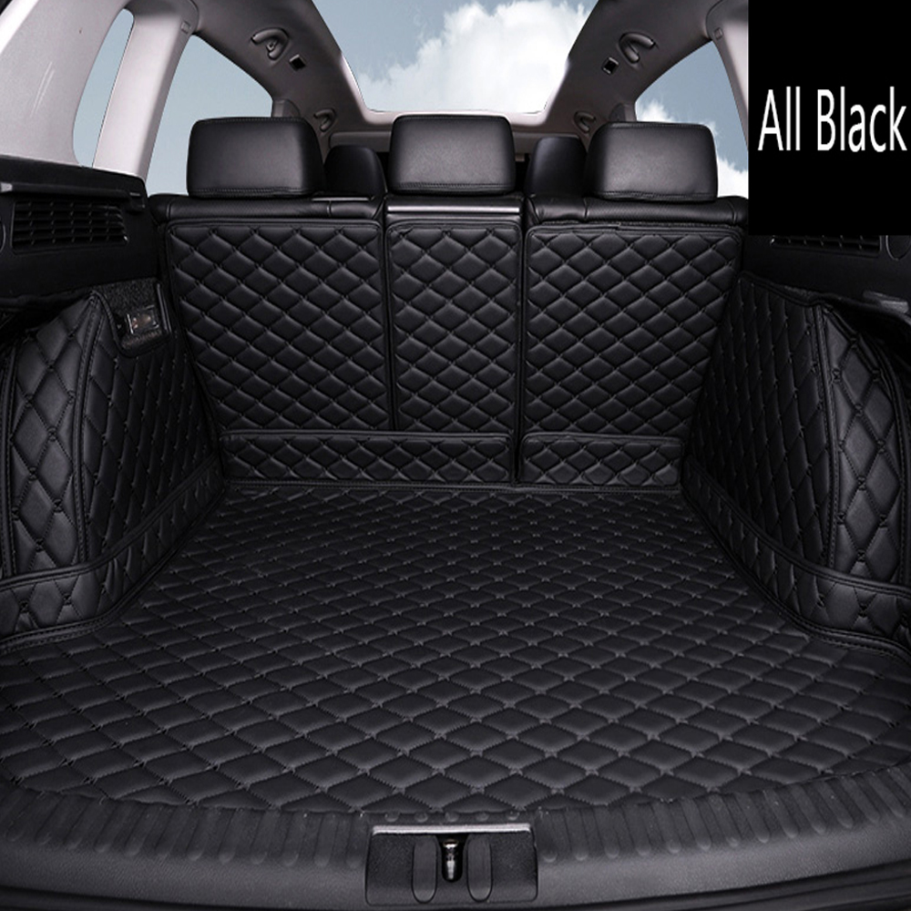 Special fit Car trunk mats cargo Liner for Audi A7 4G fastback full cover good quality high class case car styling carpet liners