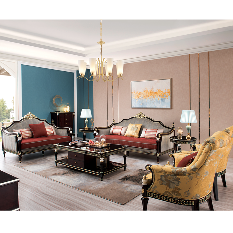 Luxury Classic Living Rooms: Luxury Classic Royal Sofa Chair Set For Living Room-in