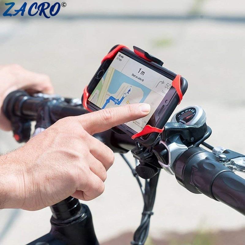 Universal Bike Bicycle Handlebar Stand Mount Holder For Mobile Cell Phone GPS RF