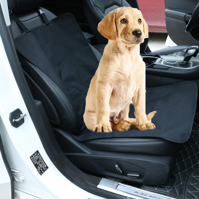 Oxford Waterproof Car Pet Seat Cover Front Protector Dog Cat Puppy Mat For
