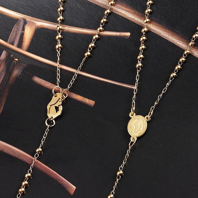 Классическая подвесная Длинная цепочка с крестом ожерелье кулоном